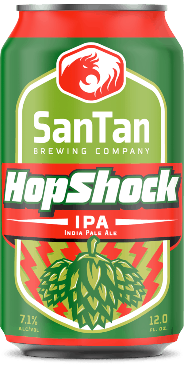 HopShock IPA | Year Round Craft Beer | SanTan Brewing Company