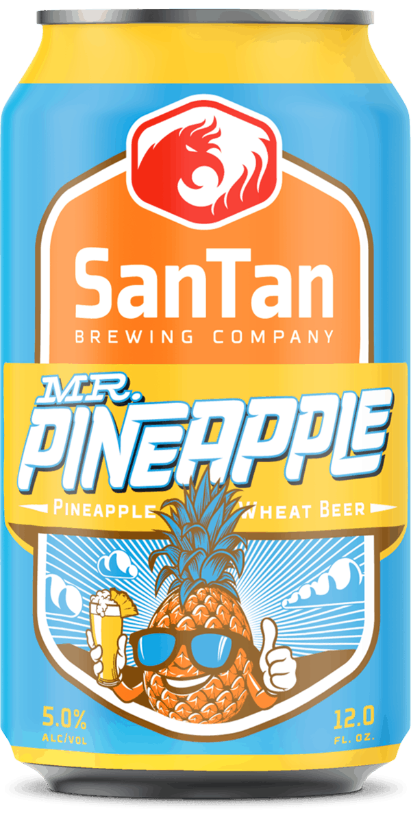 Mr. Pineapple | Pineapple Wheat | SanTan Brewing Company