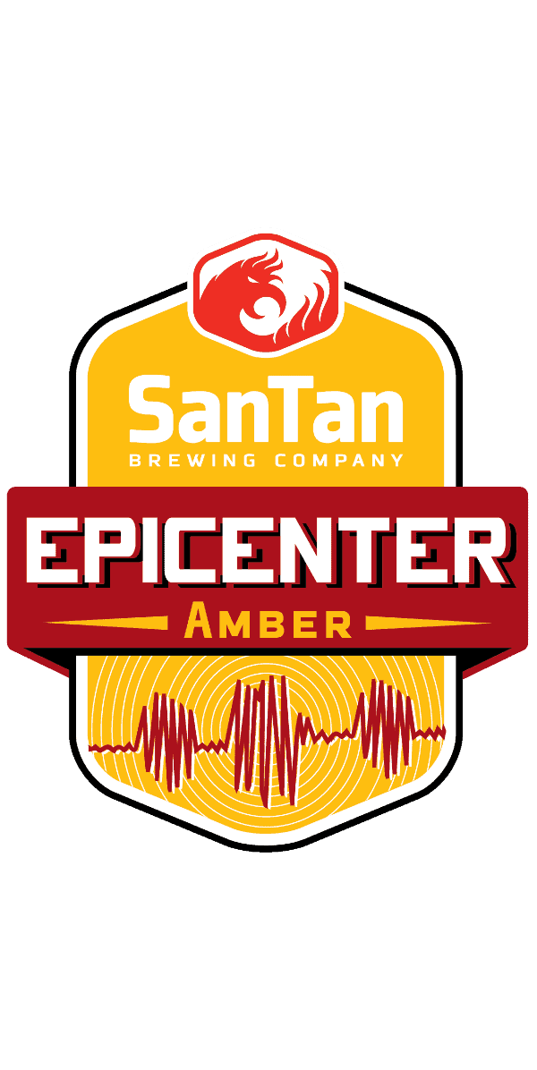 Epicenter Amber | Amber Ale | SanTan Brewing Company