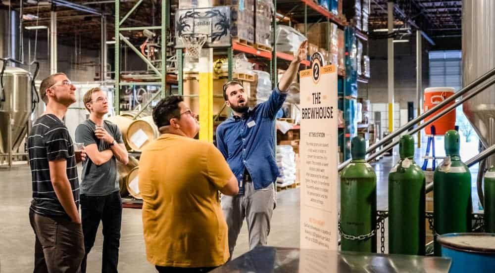 Brewery + Distillery Tours | SanTan Brewing Company