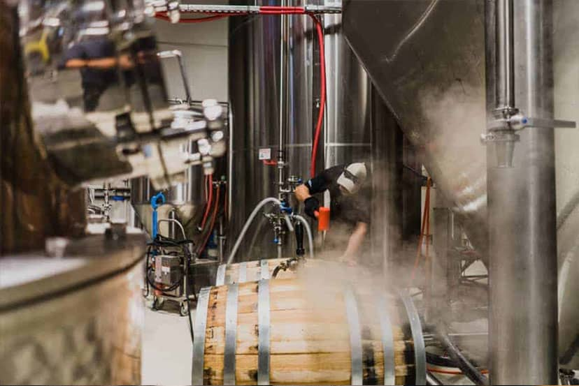 Want to See Where We Age Our Whiskey? | SanTan Distillery Tours | SanTan Brewing Company